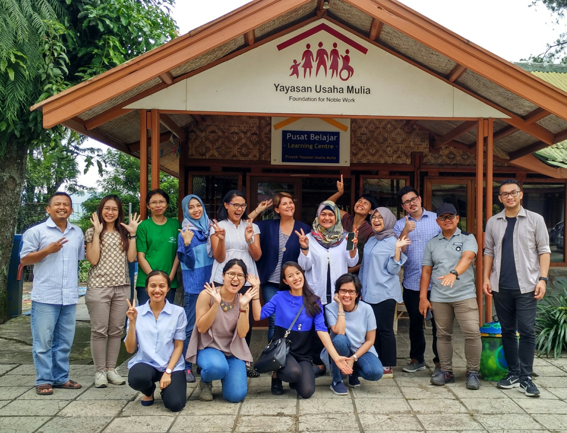Yayasan Usaha Mulia (YUM) recently hosted a visit from Asia Philanthropy Circle (APC) and like-minded education enthusiasts to our community development centre on December 12th.