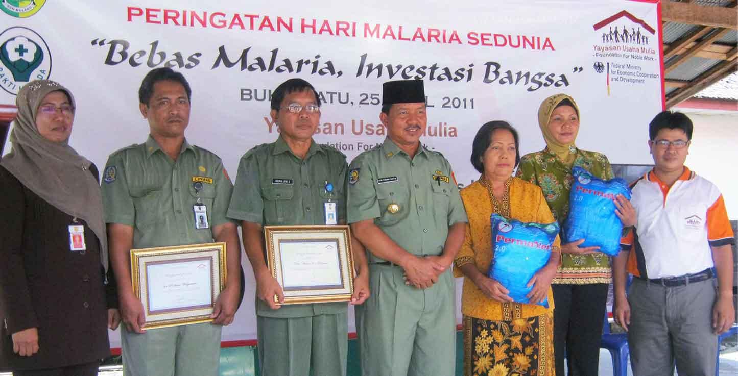 Malaria Control Central Kalimantan