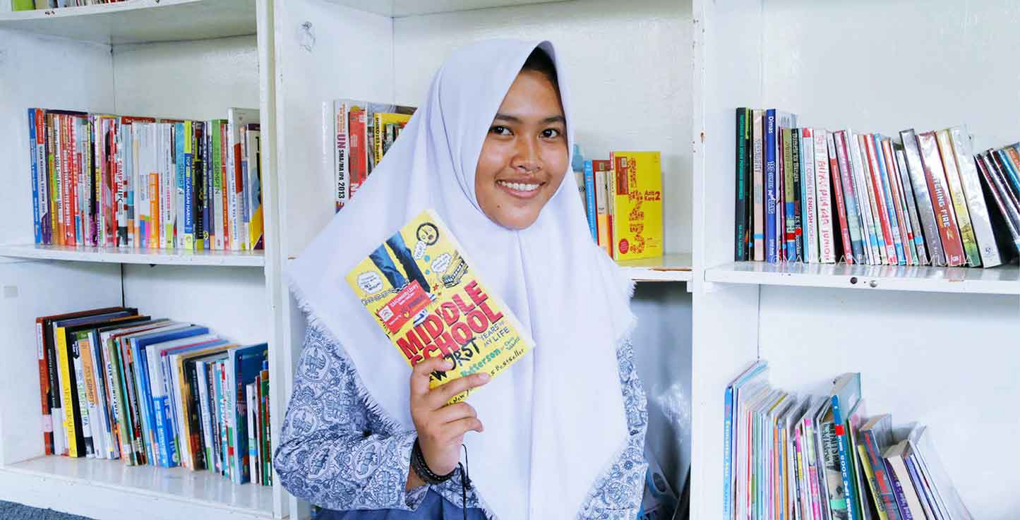 Community Libraries West Java and Central Kalimantan